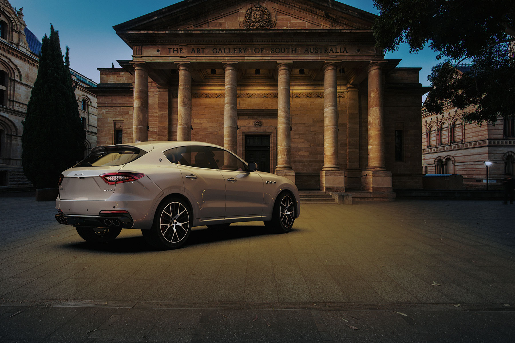 Maserati Levante advertising