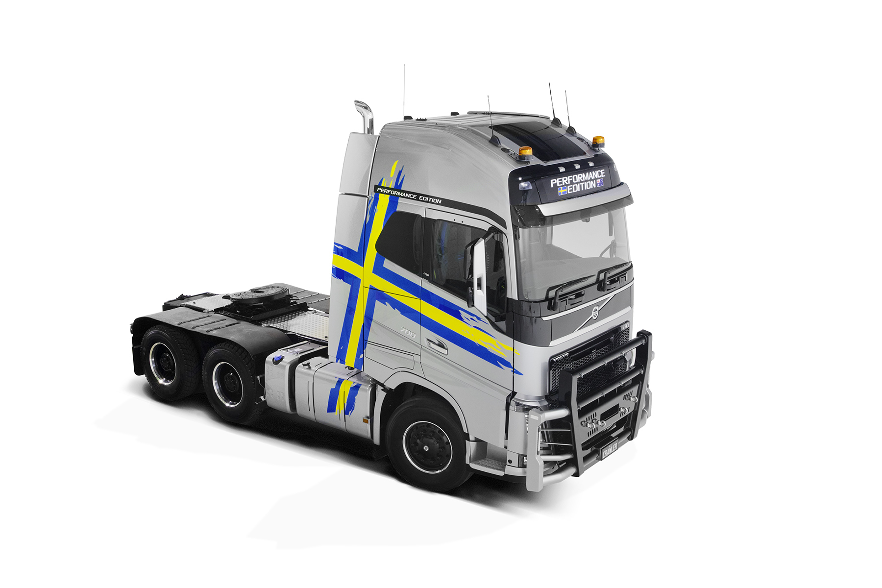 Volvo FH Performance truck photographed in studio